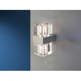 APLIQUE PARED 2 LUCES LED